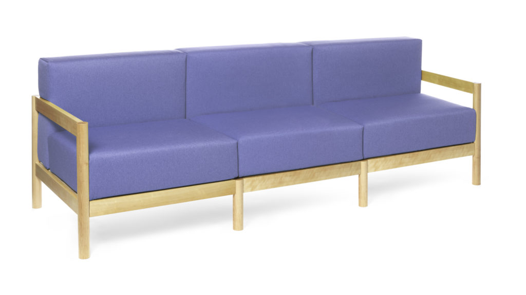 An open base sofa is perfect for a smaller rooms and apartments